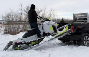 Braaamp - snowmobile loading up